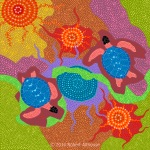 Dreamtime Series: Dancing Turtles