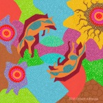 Dreamtime Series: Dancing Coyote