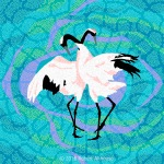 Dreamtime Series: Cranes #1